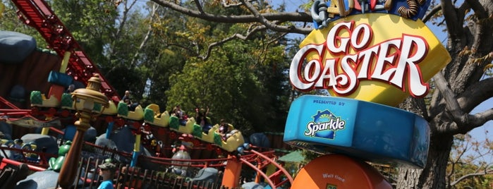 Gadget's Go Coaster is one of Orte, die Chrissy gefallen.
