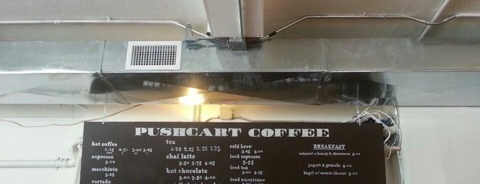 Pushcart Coffee is one of NYC's Best Coffee, Bagels & Bakeries.