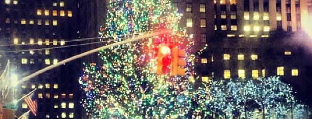 Rockefeller Center is one of New York, New York.