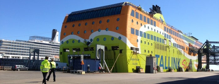 Tallink M/S Superstar is one of Aleksandra : понравившиеся места.