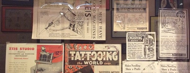 Baltimore Tattoo Museum is one of City Paper's :Goods & Services: Readers Poll '12.
