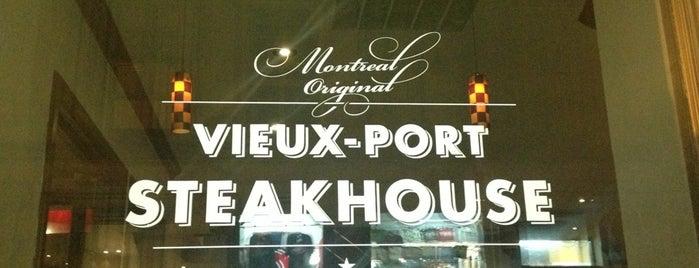 Vieux-Port Steakhouse is one of Posti che sono piaciuti a Dimitri.