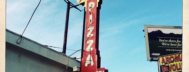 Garfano's Pizza is one of Old Los Angeles Restaurants Part 1.