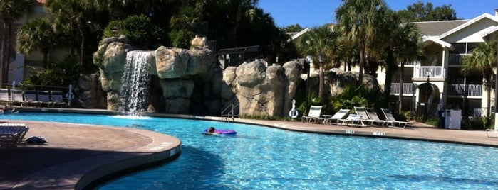 Sheraton Vistana Resort Villas, Lake Buena Vista/Orlando is one of Lugares favoritos de Gio.