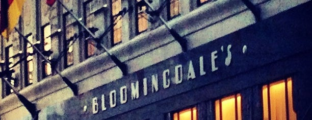 Bloomingdale's is one of New York, my dear New York.