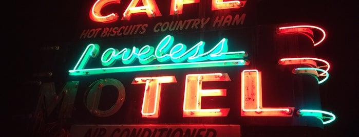 Loveless Cafe is one of Nashville.