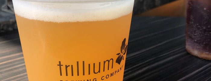 Trillium Brewing Company is one of boston ?.