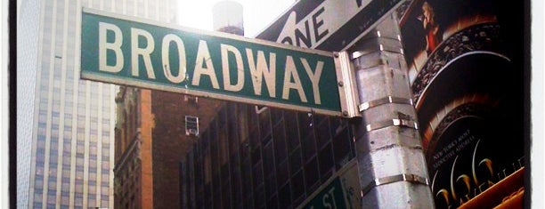 Broadway is one of New York.