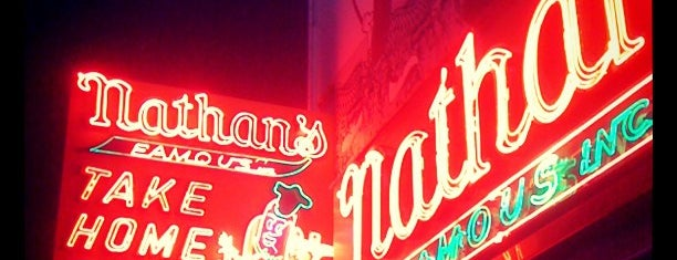 Nathan's Famous is one of New York City Classics.