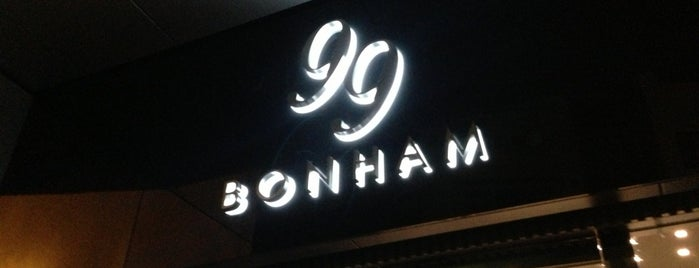 99 Bonham is one of Hong Kong.