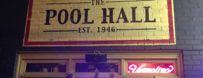 The Pool Hall is one of Nightlife.