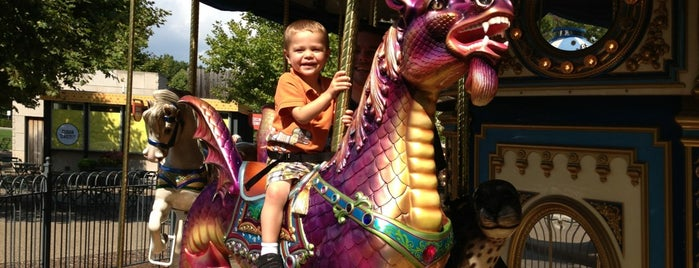Schenley Plaza Carousel is one of Keith's Liked Places.