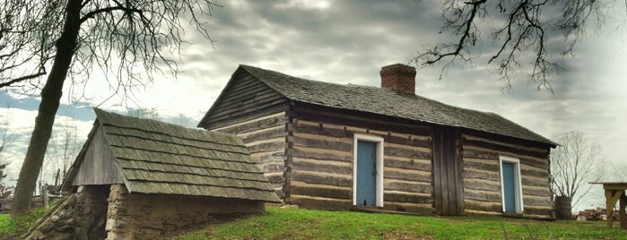 Lincoln Log Cabin is one of DownState Etc.