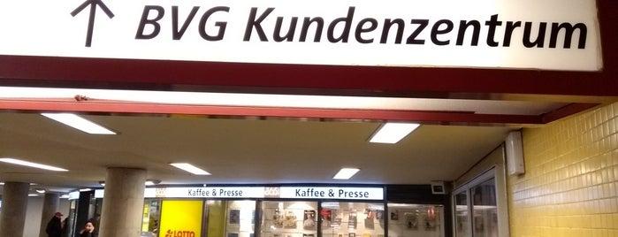 BVG Kundenzentrum is one of Locais curtidos por Cristi.