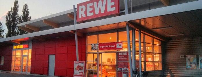 REWE is one of Tempat yang Disukai Sevil.