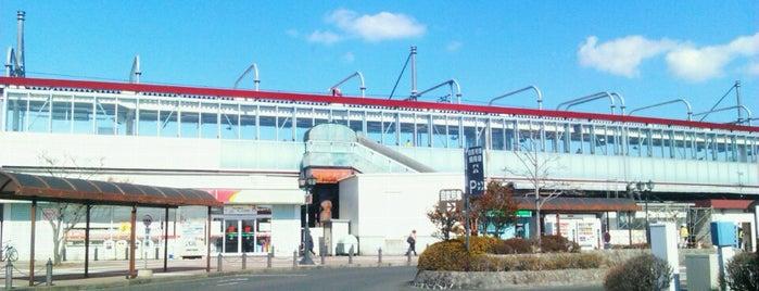 Tagajō Station is one of JR 미나미토호쿠지방역 (JR 南東北地方の駅).