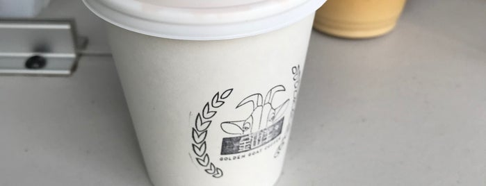 Golden Goat Coffee is one of San Fran.