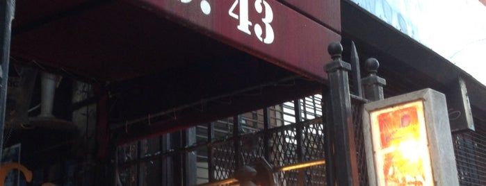 Jimmy's No. 43 is one of NYC - Bars.