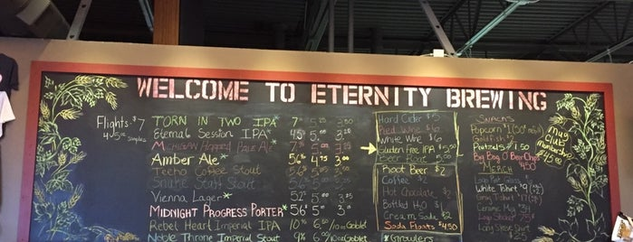 Eternity Brewing Company is one of Michigan Breweries.