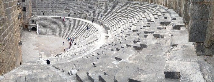 Aspendos Antik Tiyatrosu is one of antalya 2014.