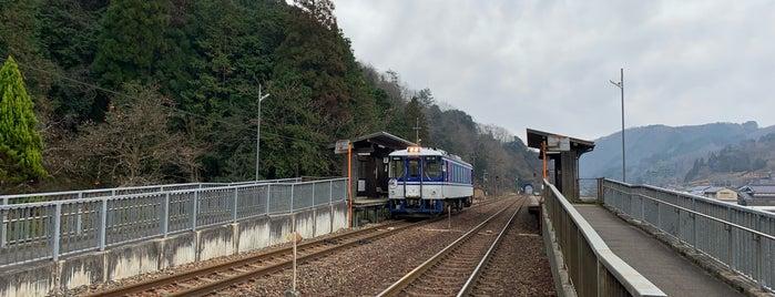 Hirafuku Station is one of Tempat yang Disukai 高井.