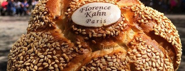 Florence Kahn is one of Paris food.