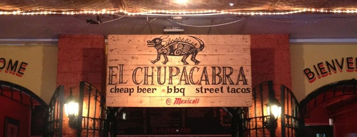 El Chupacabra is one of To check out.