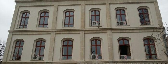 Beyazıt Devlet Kütüphanesi is one of İst çalışma mekanları.