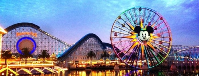 Disney California Adventure Park is one of The Most Popular Theme Parks in U.S..
