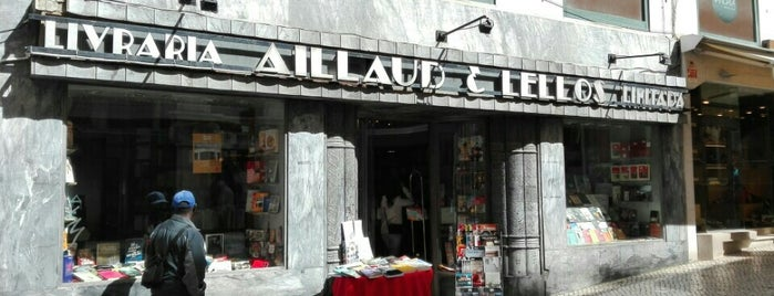 Livraria Aillaud & Lellos is one of Portugal.