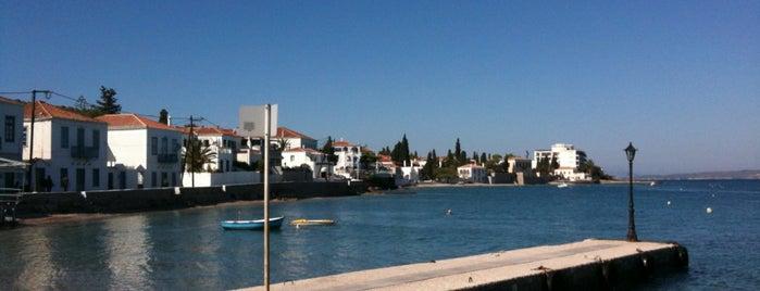 Kounoupitsa is one of Spetses Island.