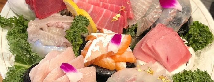 Dongwon Sushi & Tuna is one of Posti che sono piaciuti a Cat.