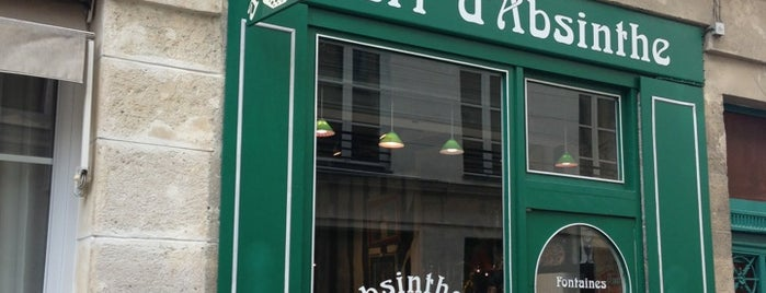 Vert d'Absinthe is one of Paris.