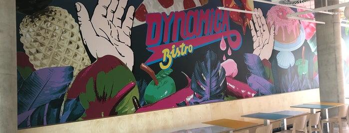 Dynamica Bistro is one of Kde si pochutnáte na kávě doubleshot?.