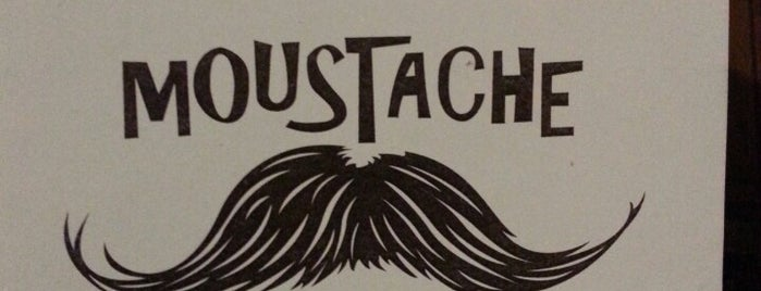 Moustache is one of Locais curtidos por Marie-Pier.