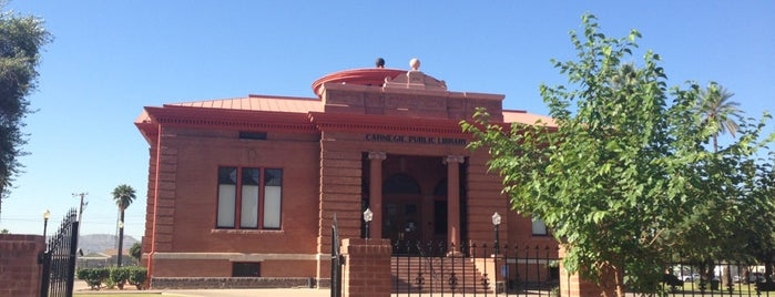 Carnegie Center & Library Park is one of Historic America.