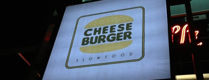 Cheeseburger Slow Food is one of Maciej : понравившиеся места.