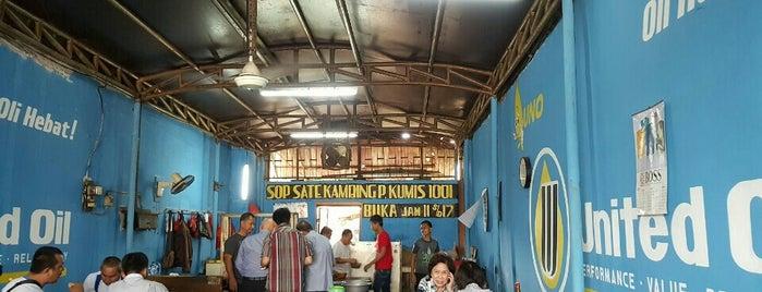 Sop dan Sate Kambing Pak Kumis 1001 is one of Jakarta Pusat.