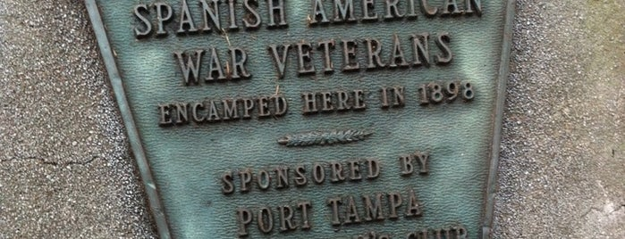 Spanish-American War Memorial Park is one of City of Tampa Parks.