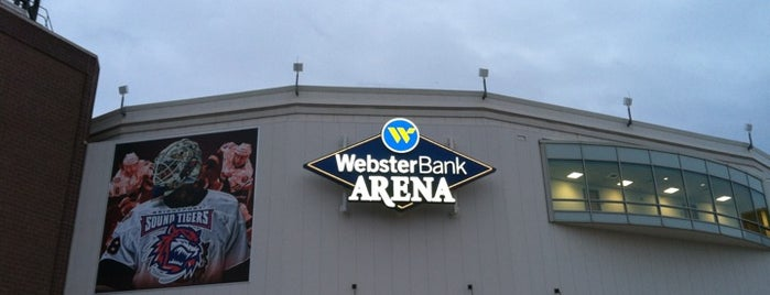 Webster Bank Arena is one of sports arenas and stadiums.