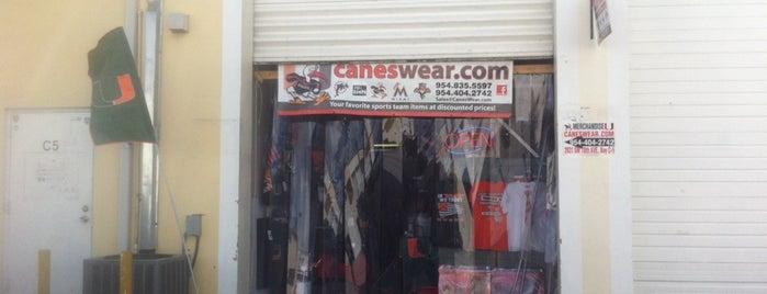 Canes Wear is one of สถานที่ที่บันทึกไว้ของ Albert.