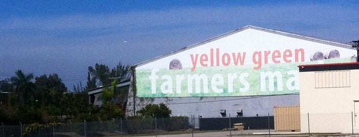 Yellow Green Farmers Market is one of Miami.