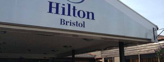 DoubleTree by Hilton Hotel Bristol North is one of dyvroeth : понравившиеся места.