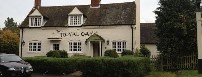 The Royal Oak is one of Carl 님이 좋아한 장소.