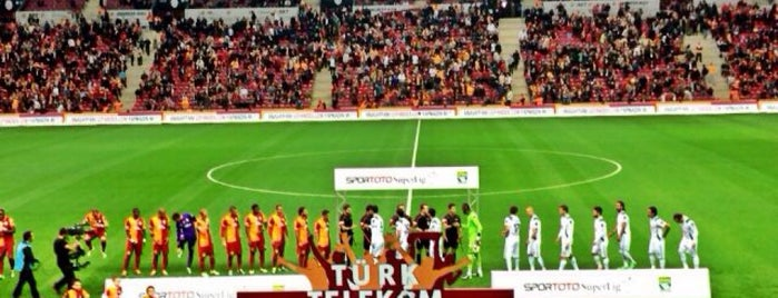 Türk Telekom Stadyumu is one of Part 1~International Sporting Venues....