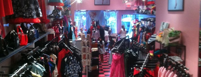 Bettie Page Clothing Store is one of Beantown.
