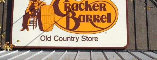 Cracker Barrel Old Country Store is one of Try.