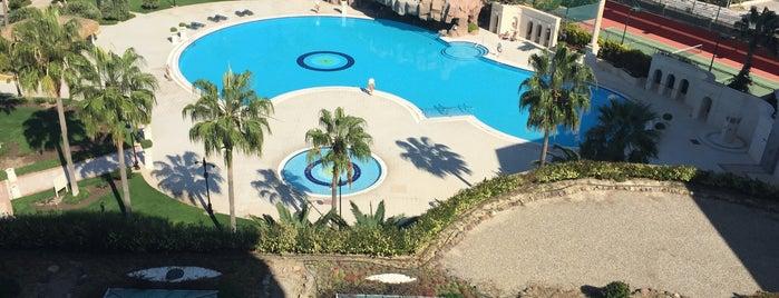 Sheraton Çesme Hotel, Resort and SPA is one of สถานที่ที่ Faruk ถูกใจ.