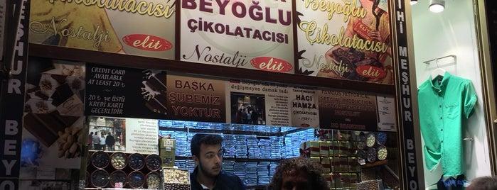 Tarihi Meşhur Beyoğlu Çikolatacısı is one of Lugares favoritos de Faruk.