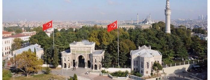 İstanbul Üniversitesi is one of สถานที่ที่ Faruk ถูกใจ.